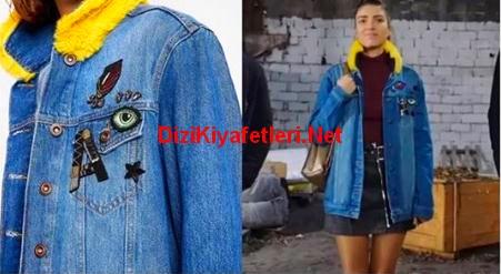 Fazilet Hanım ve Kizlari 25 Bolum Hazan jean ceket