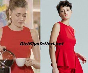 Erkenci Kuş Leyla Kırmızı Bluz