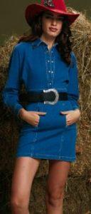 Zalim İstanbul Cemre jean elbise