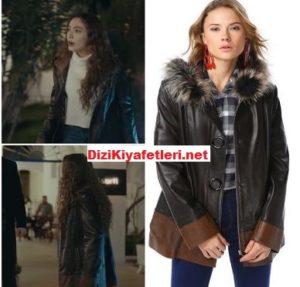 Sefirin Kızı Nare deri ceket markası