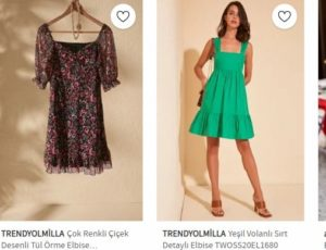 Trendyolmilla elbise indirimleri
