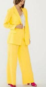 Çatı Katı Aşk Yasemin sarı pantolonu