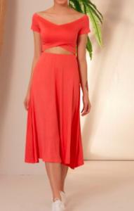 Cati kati Ask Sevda kırmızı elbisesi