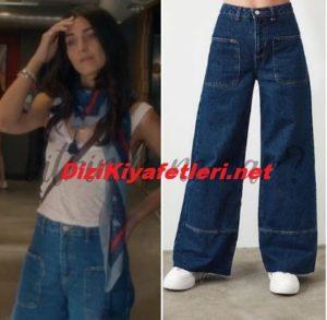 Tuba Büyüküstun Jean markası