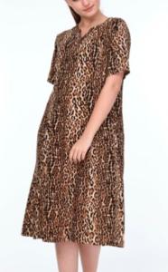 Sefirin Kızı Nare leopar pijaması