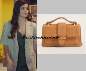 Hande Erçel Kahverengi çanta