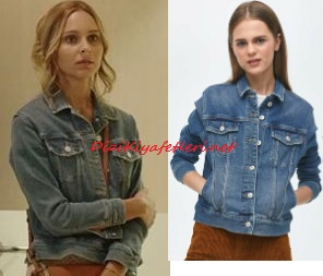 Maria ile Mustafa jean ceket