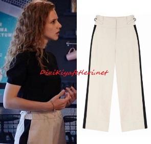 Menajerimi Ara dizisi Dicle beyaz pantolon