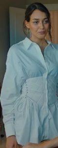 Alev Alev Rüya beyaz elbise