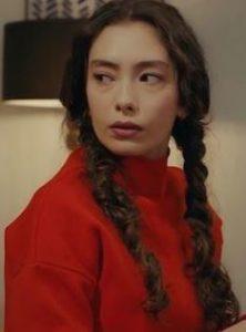 Sefirin Kızı Nare kırmızı kazak