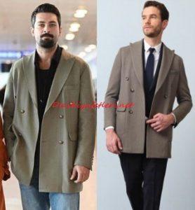 Mucize Doktor Alihan vizon ceket