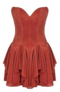 Baraj dizisi Zahra kırmızı elbise