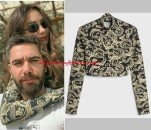 Neslihan Atagül siyah bluz