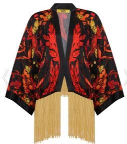Yasak Elma Feride kırmızı kimono